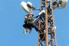Speciální montážní práce v telekomunikacích